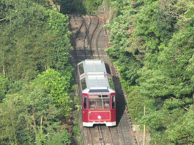 Hong Kong Island top 10 things to do in hong kong with kids- The Peak Tram