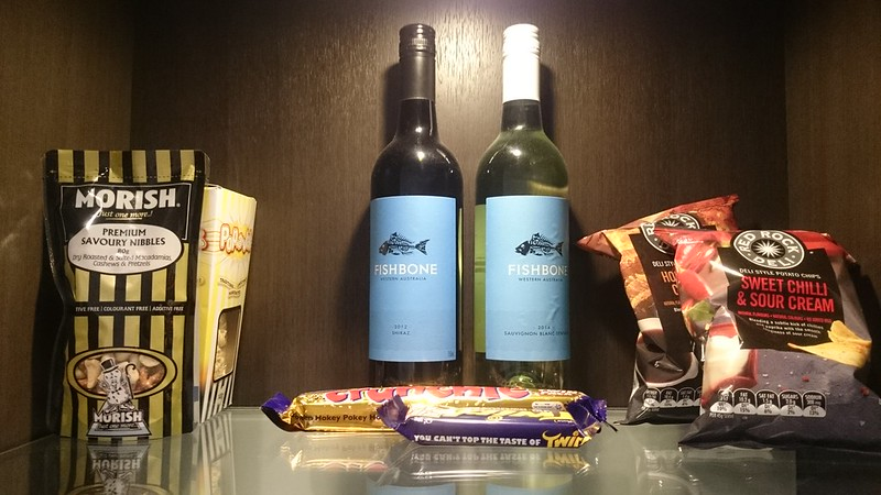 Mini Bar Sage Hotel Perth | Perth Staycation