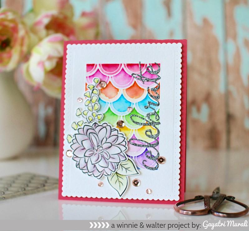 Rainbow Celebrate card
