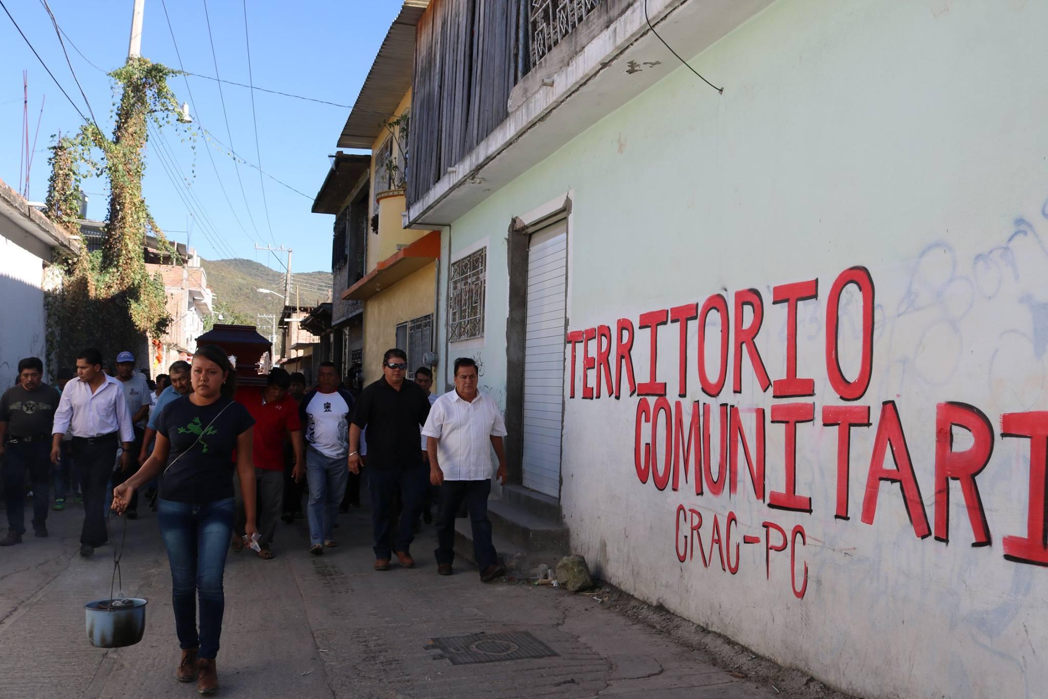 Sepultan a Coordinador de la CRAC-PC asesinado el domingo
