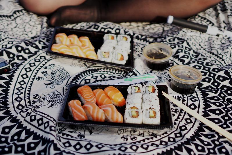 sushi en barceloneta