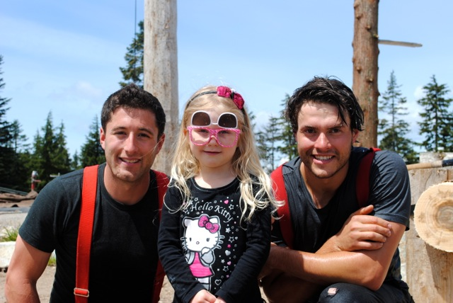 My Niece with the Lumberjacks