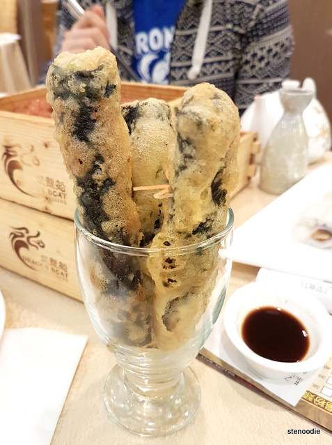 Deep Fried Seaweed Roll with Shrimp & Fish