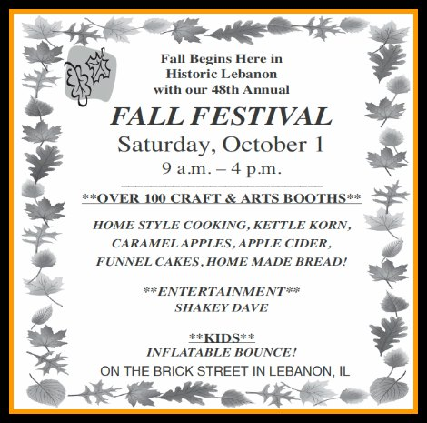 Fall Festival 10-1-16