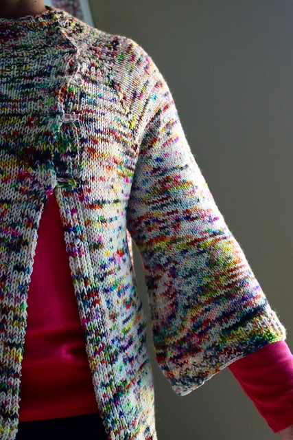 Graffiti bridge cardigan