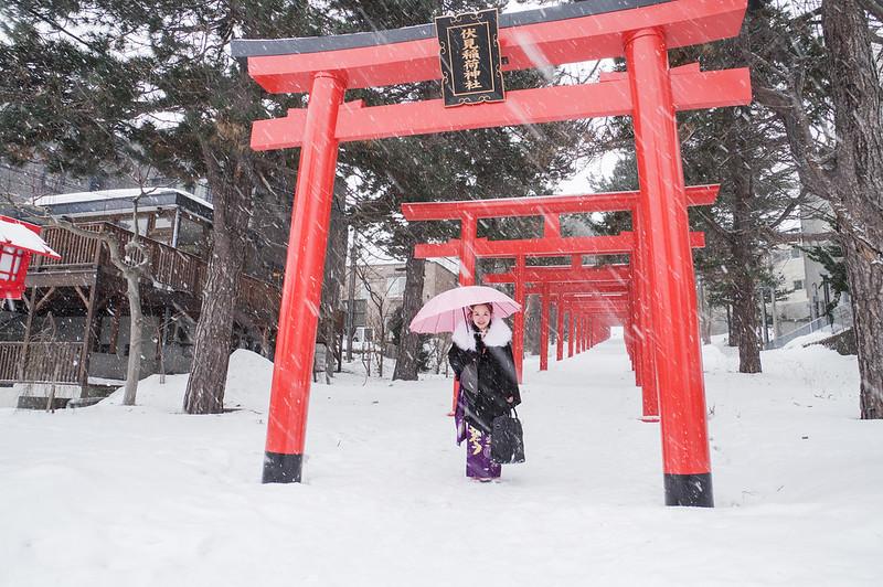 冬‧日本自助婚紗