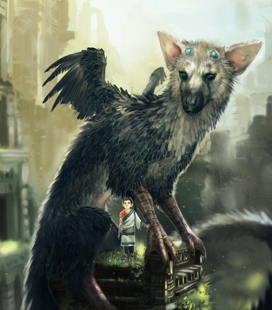 The Last Guardian fan art: Tatchit