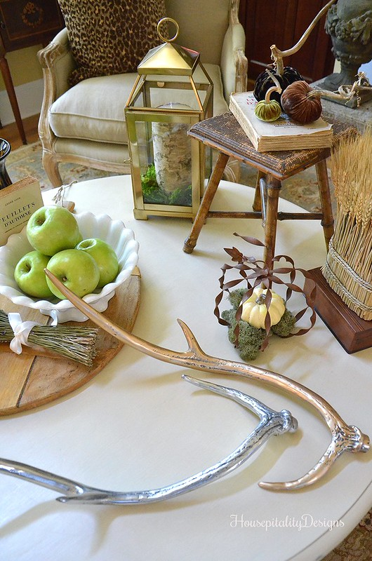 Fall Vignette - Antlers - Housepitality Designs