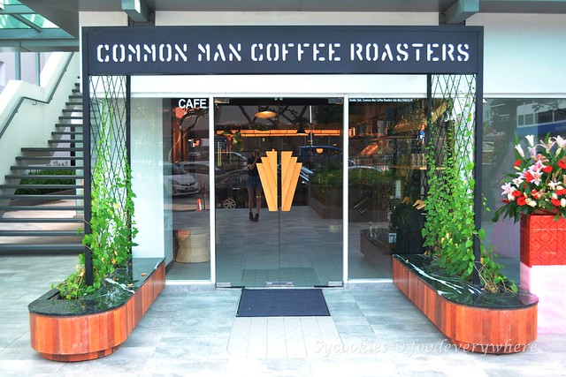 1.Common Man Coffee Roasters (CMCR) @ TTDI KL
