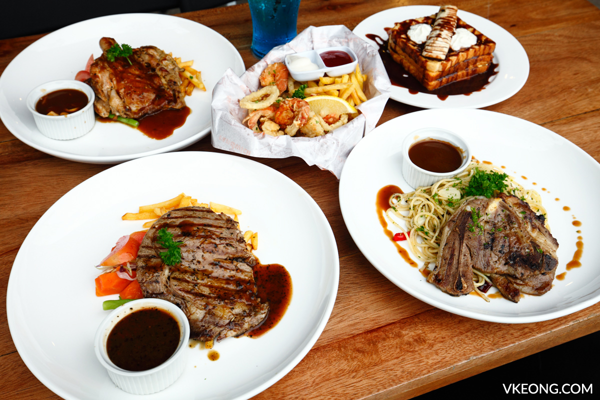 Tryst Cafe Western Food Publika