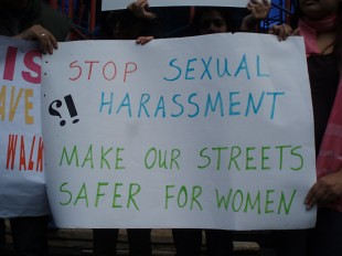 Civil Society Groups Join Efforts to Halt Public Sexual Harassment