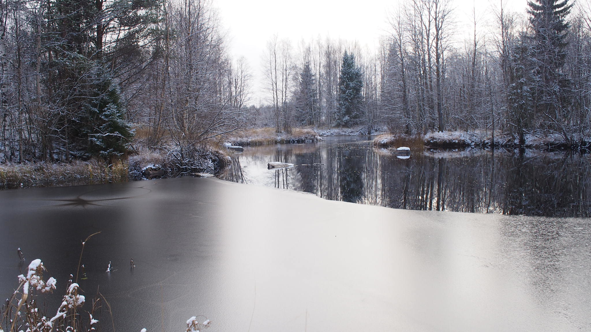 27.10. Mustavalkoinen Sanginjoki.