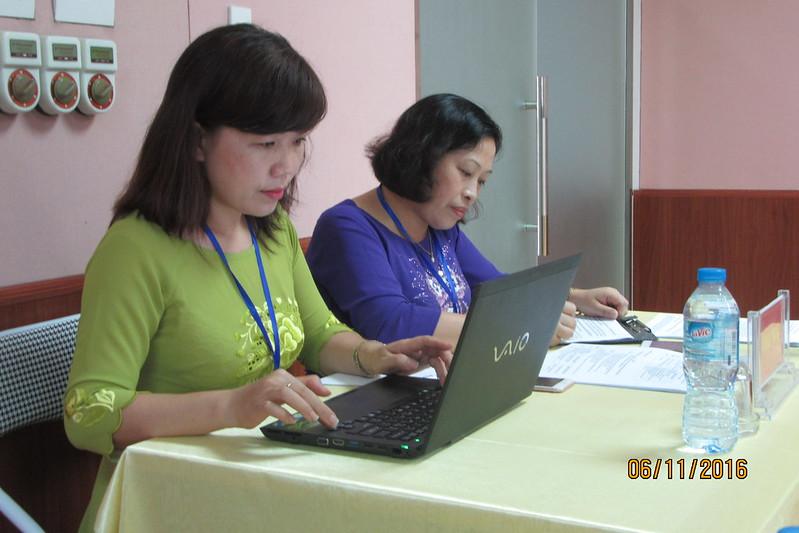 Dự hội thảo CĐSP Lào Cai 2016