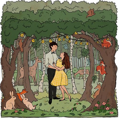 Woodland Wedding - constructed file