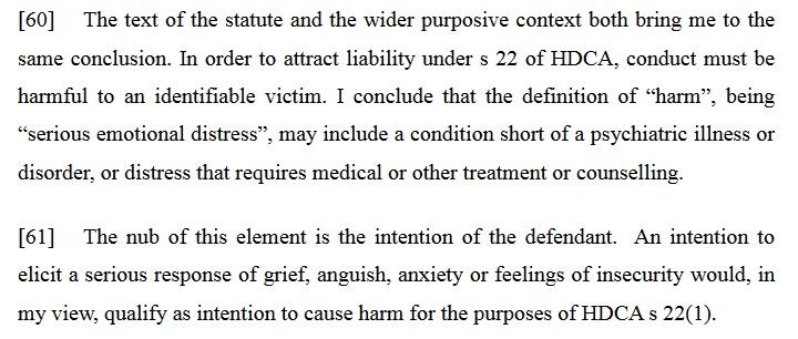 HDCA-Harm