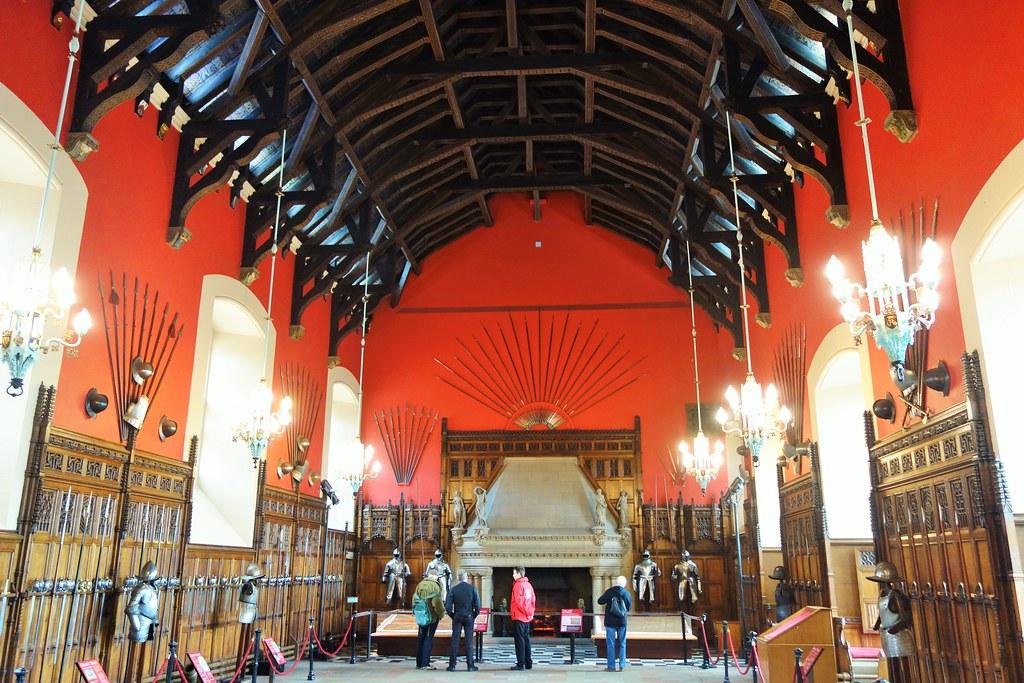 Great Hall, Edinburgh Castle, Scotland