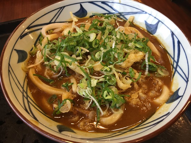 Curry udon - Marukame Udon