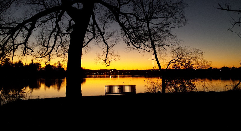 Little Lake Sunset