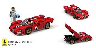 Ferrari 512 S - NART Racer s/n 1006 1970