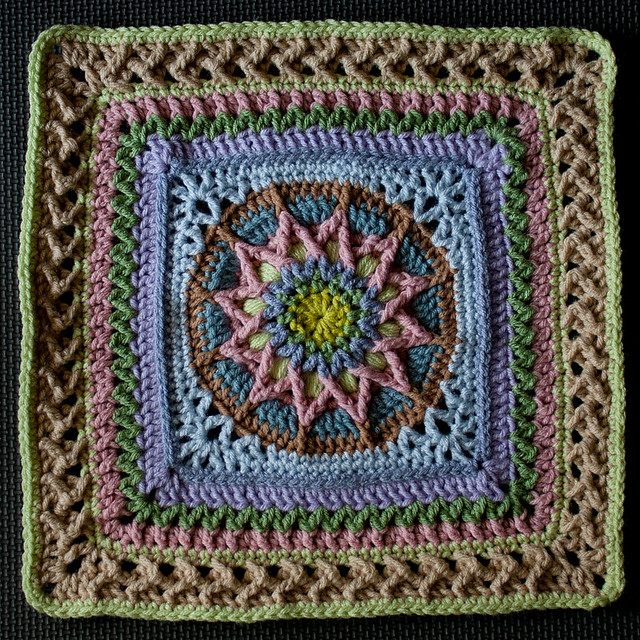 """June"" Afghan Square"
