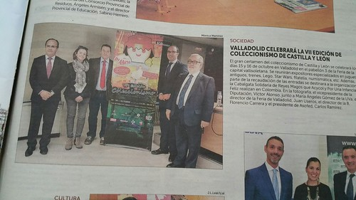 VII Edición de Coleccionismo de Valladolid-Castilla y León R.P. En los medios