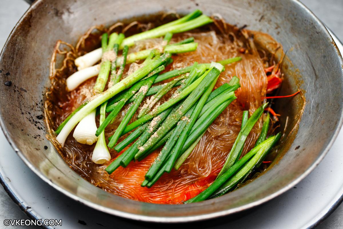 Claypot Prawn Glass Noodle Che Peak Bangkok