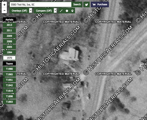 Temple of Health from HistoricalAerials