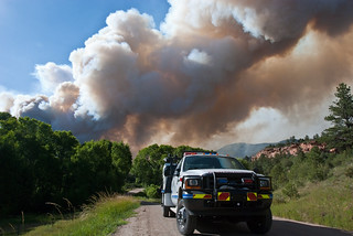 Colorado High Park Fire | by The National Guard