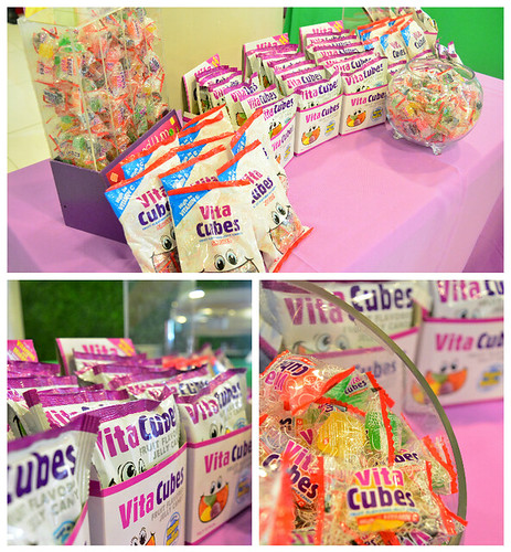 Vita Cubes Candy Booth