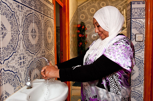 In the Berkani neighborhood near Meknès 10,504 households now have been connected to the piped water services | by World Bank Photo Collection