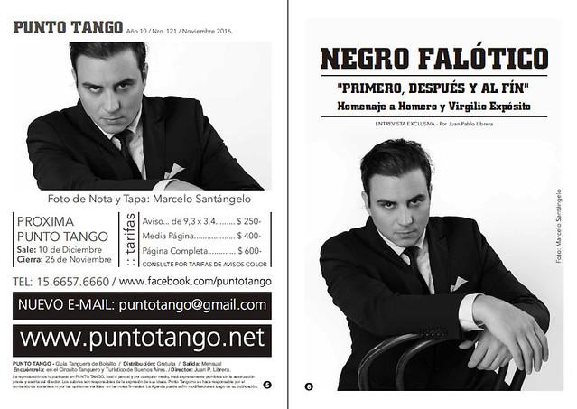 Revista Punto Tango 121 Negro Falótico 01