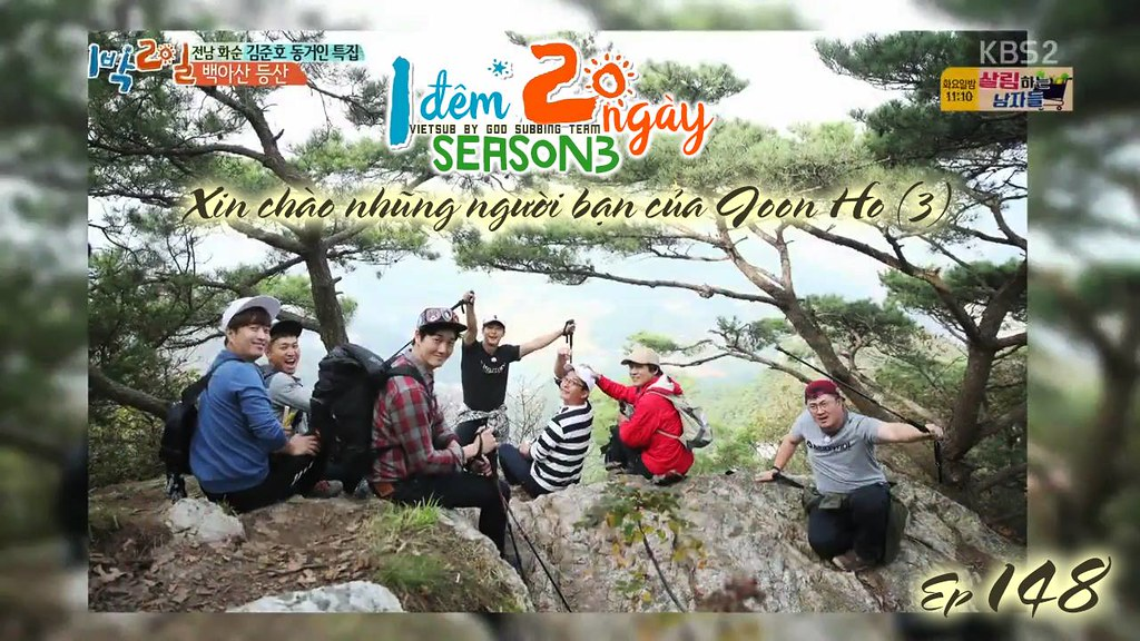 [Vietsub] 2 Days 1 Night Season 3 Ep 148