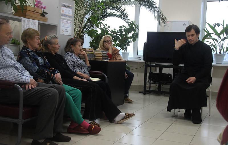 Беседа о посте в Ортопедическом центре им. Альбрехта 23.11