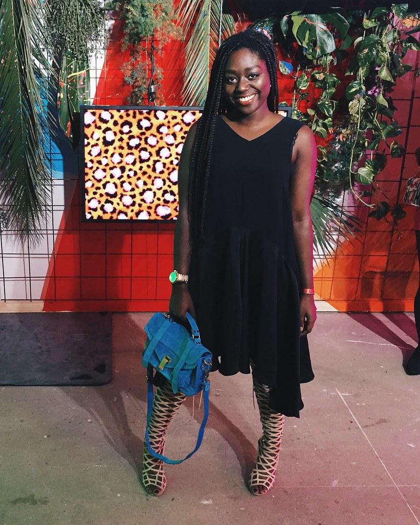 Lois Opoku lisforlois Kenzo hm Party