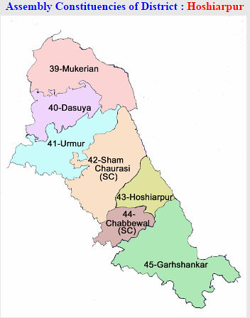 Hoshiarpur district Punjab Election 2017