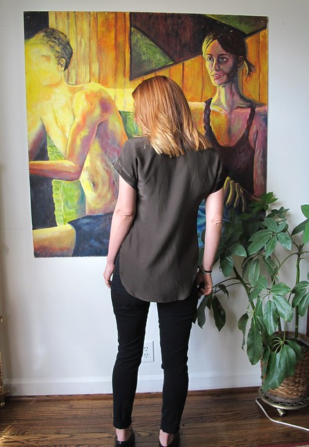 Mélilot shirt- back