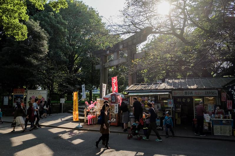 上野東照宮入口
