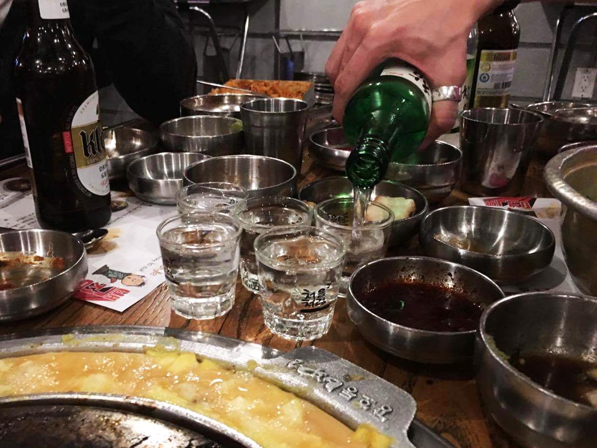 New York korealainen ravintola
