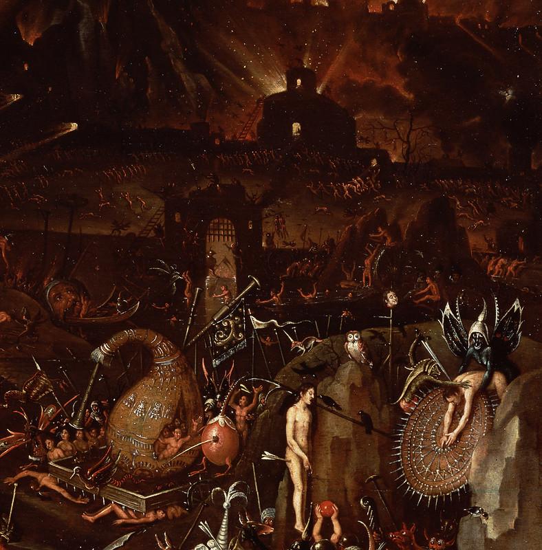 Herri met de Bles - The Inferno, detail 3, 16th C