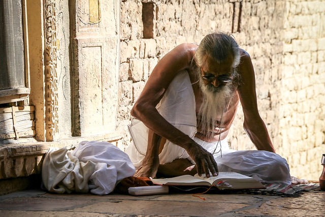 A religious ascetic, Jaisalmer, India ジャイサルメール 行者と思われる男性