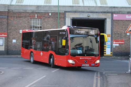 Quality Line MCS05 on Route 413*, Sutton Bus Garage