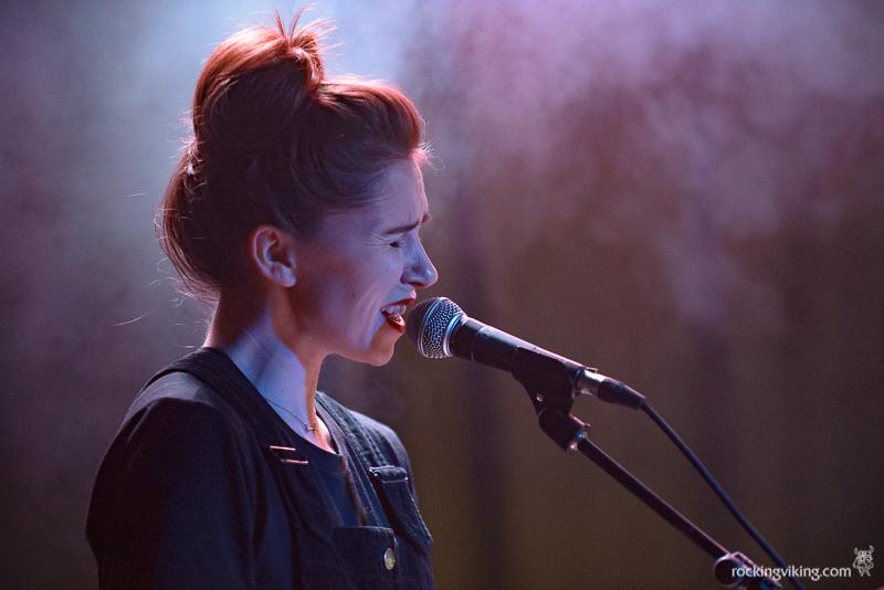 Krissy of O Karima singing at Leadmill, Sheffield