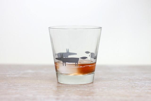 Raspberrry Liqueur Glass