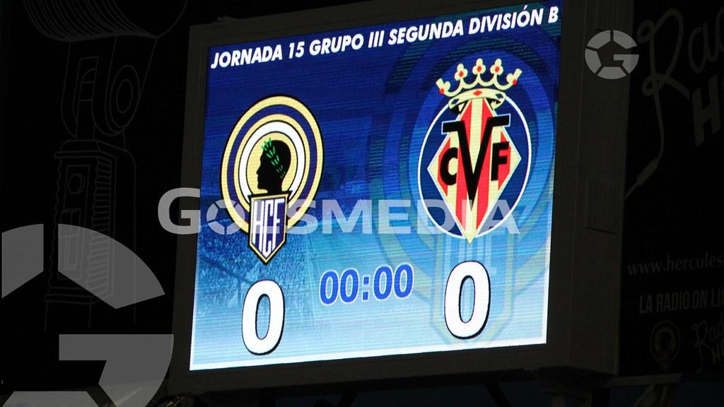 Hércules-Villarreal B (2-3) Fotos: J. A. Soler