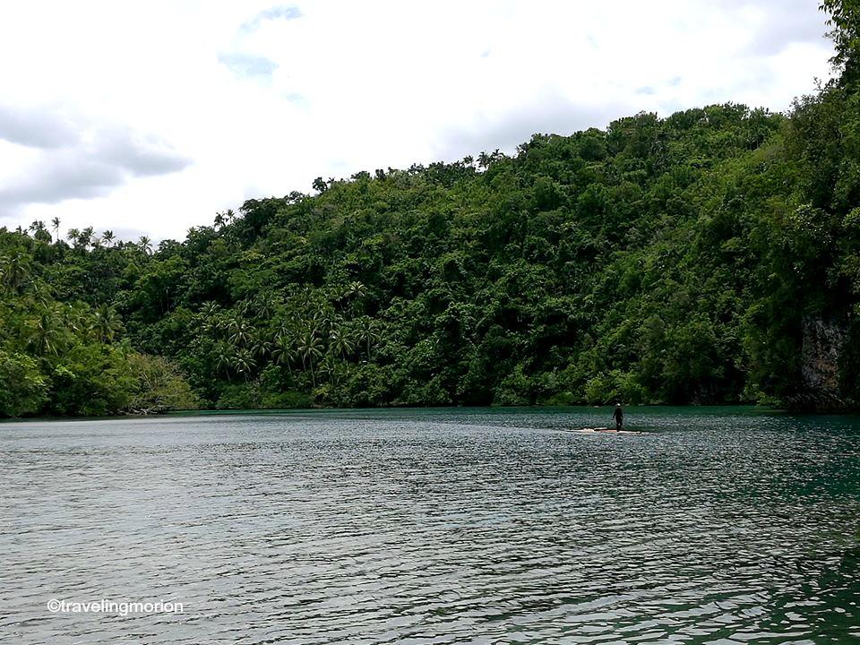 Lapsay Lagoon in Tagana-an, Surigao del Norte