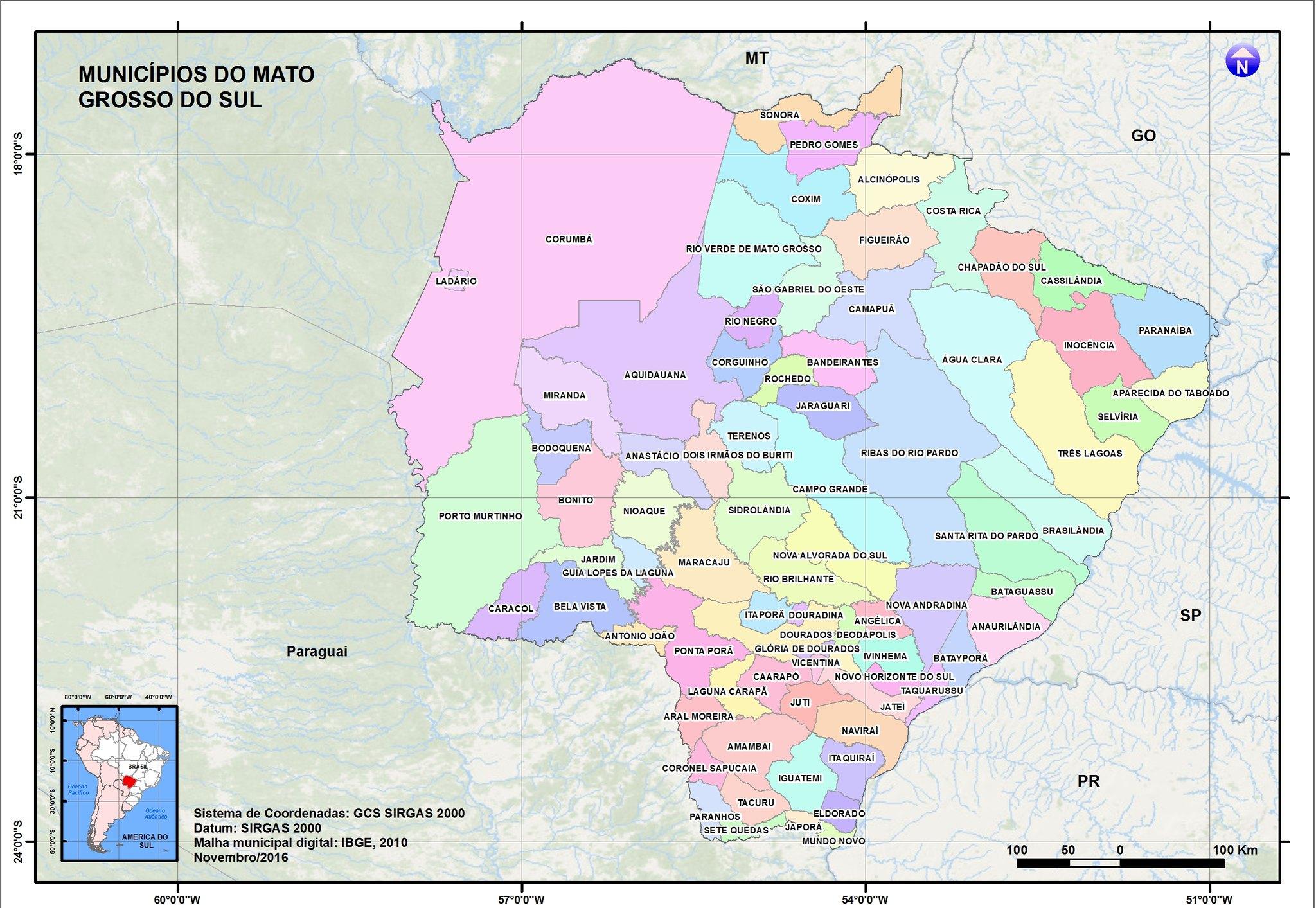 Mato Grosso do Sul poderá ficar mais quente e seco nos próximos 25 anos