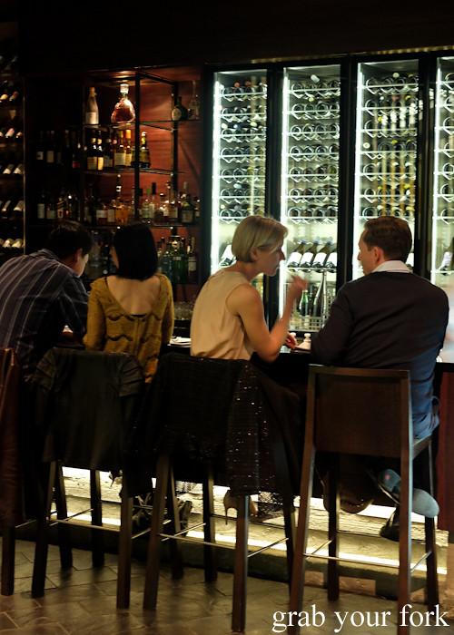 Bar seating at Momofuku Seiobo at the Star in Sydney