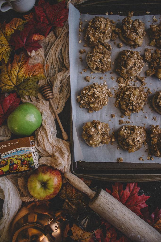 Dutch Apple Pie Cookies with a Caramel-Apple Glaze | TermiNatetor Kitchen