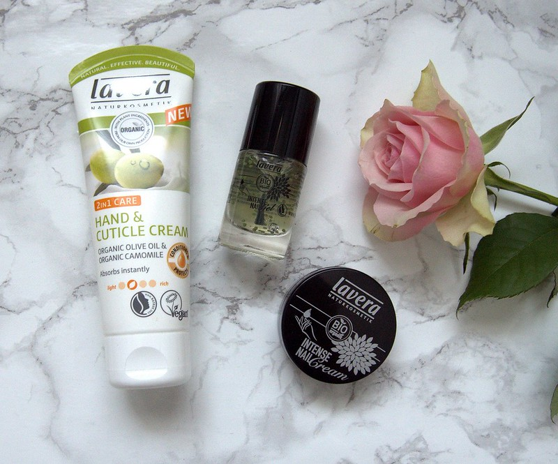 Lavera Intense Nail Gel 2In1 Hand & Cuticle Cream