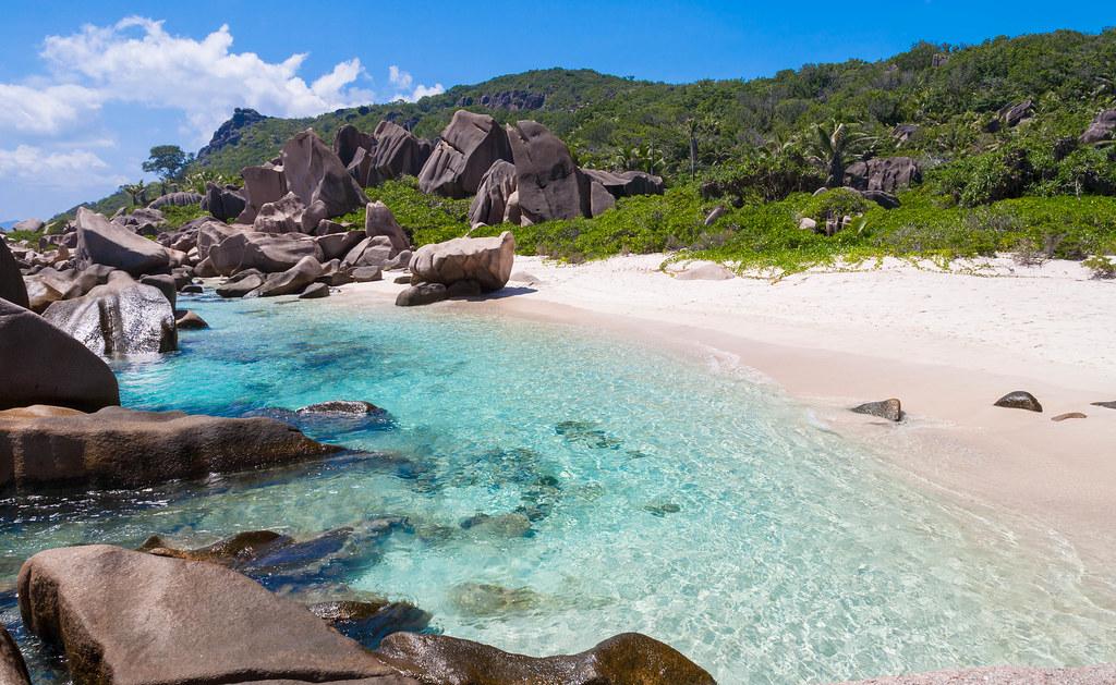 Anse Marron,La Digue,Seychelles